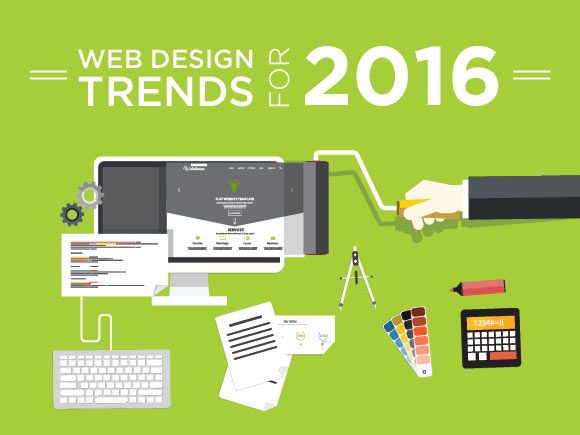 2016 Design trends that take web designing to the next level